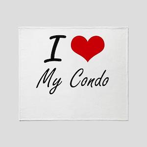 I love My Condo Throw Blanket