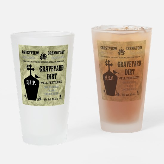 GRAVEYARD DIRT Drinking Glass