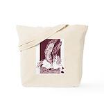 Diamond Horse Sepia Tote Bag