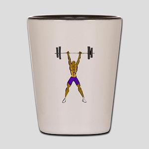 Weightlifting Shot Glass