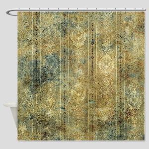 Vintage design Shower Curtain