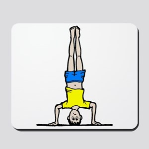 Head Stand Mousepad
