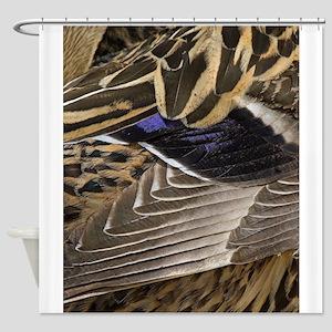 Mallard Wing Shower Curtain