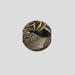 Mallard Wing Mini Button