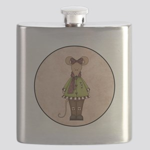 MERRY CHRIS-MOUSE Flask