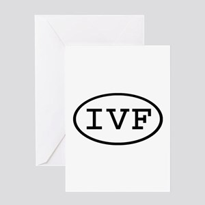 IVF Oval Greeting Card