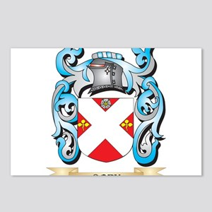 Cory Coat of Arms - Famil Postcards (Package of 8)