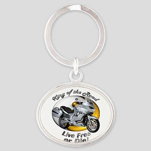 Moto Guzzi Norge 1200gt Oval Keychain