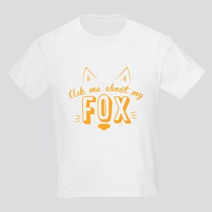 Ask me about my Fox (cute retro vin T-Shirt