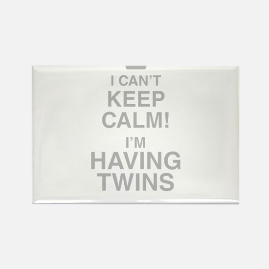 I Cant Keep Calm! Im Having Twins Magnets