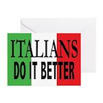 Italians Do It Better Greeting Cards (Pk/20)