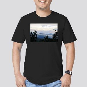 Smoky Mountain Sunrise Men's Fitted T-Shirt (dark)