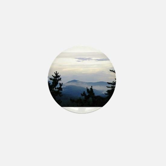 Smoky Mountain Sunrise Mini Button