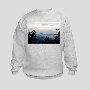 Smoky Mountain Sunrise Kids Sweatshirt