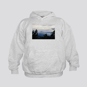 Smoky Mountain Sunrise Kids Hoodie