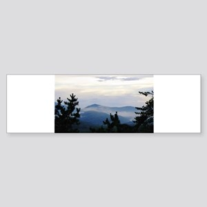 Smoky Mountain Sunrise Sticker (Bumper)