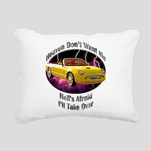 Ford Thunderbird Rectangular Canvas Pillow