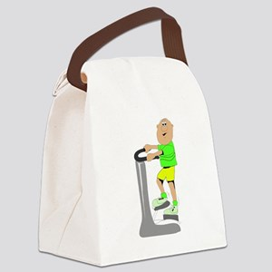 Stair Climber Canvas Lunch Bag