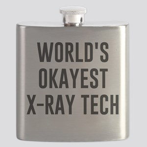 World's Okayest X Ray Tech Flask