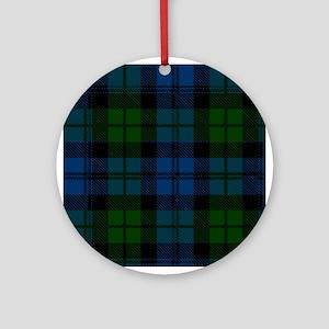 Campbell Scottish Tartan Round Ornament