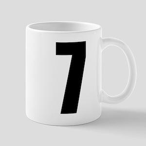Number Seven - No. 7 11 oz Ceramic Mug