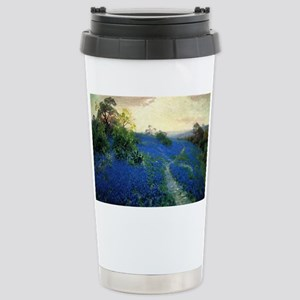 Onderdonk painting, Blu Stainless Steel Travel Mug