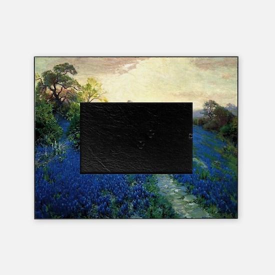 Onderdonk painting, Bluebonnet Field Picture Frame