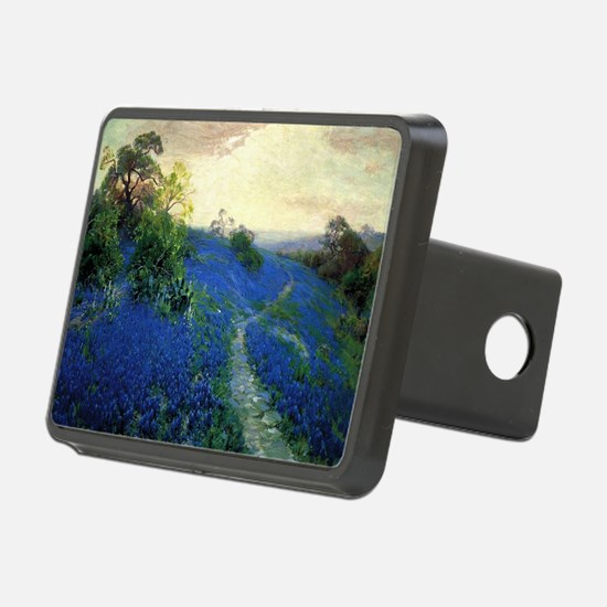 Onderdonk painting, Bluebo Hitch Cover