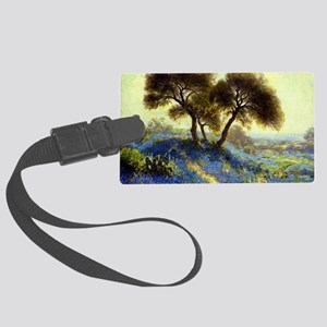 A Spring Morning, painting by Ju Large Luggage Tag