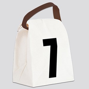 Number Seven - No. 7 Canvas Lunch Bag