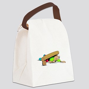 Obstacle Course Canvas Lunch Bag