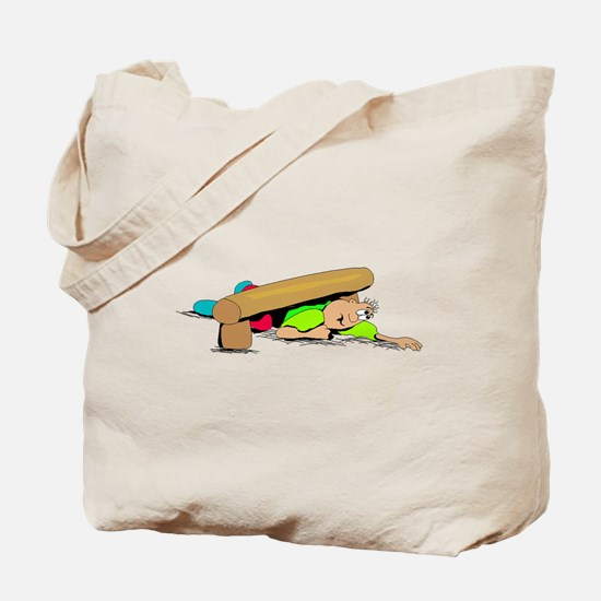Obstacle Course Tote Bag
