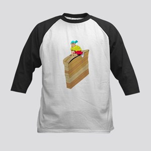 Obstacle Course Baseball Jersey