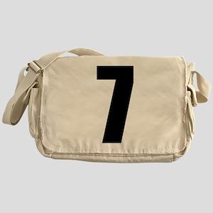 Number Seven - No. 7 Messenger Bag