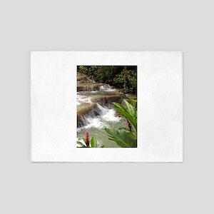 Tropical Falls 5'x7'Area Rug