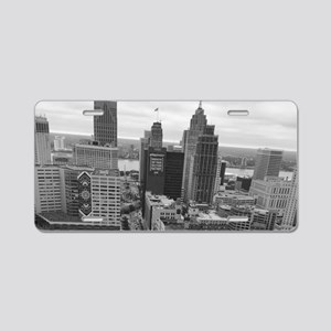Higher Grounds Aluminum License Plate