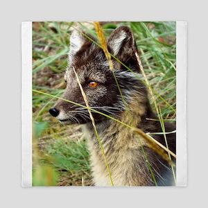 Watchful Fox Queen Duvet