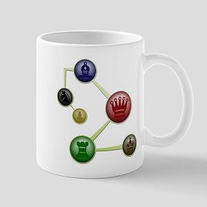 Chess Molecules Mug