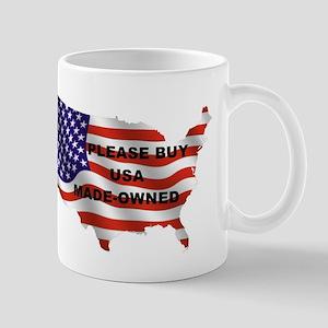 Buy USA Made-Owned Mugs