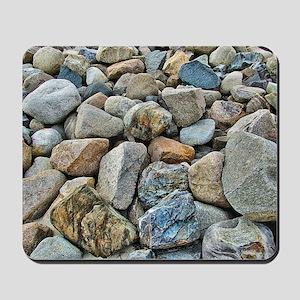 Beach Rocks Mousepad