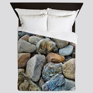 Beach Rocks Queen Duvet