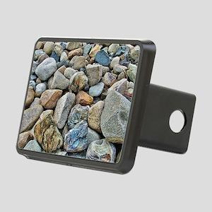 Beach Rocks Rectangular Hitch Cover