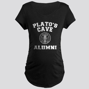 Plato Maternity Dark T-Shirt
