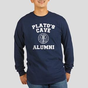 Plato Long Sleeve Dark T-Shirt