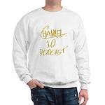 Channel 10 Podcast Square Logo Sweatshirt
