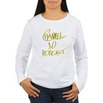 Channel 10 Podcast Square Logo Long Sleeve T-Shirt