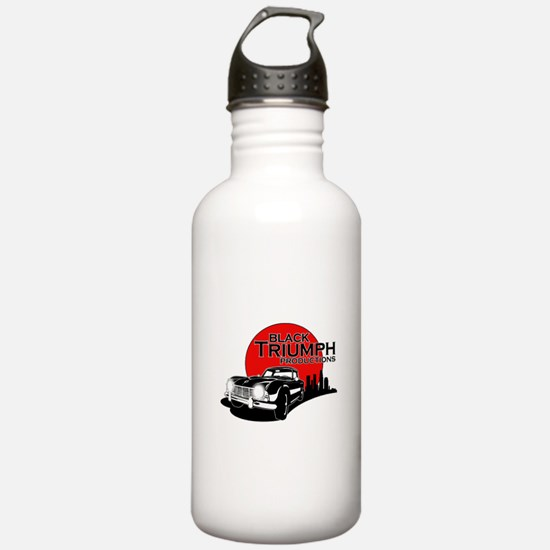 Black Triumph Water Bottle