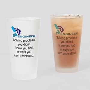 ENGINEERSolving problems you didn't Drinking Glass