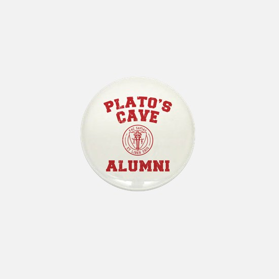 Plato Mini Button