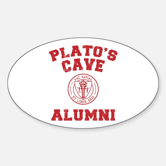 Plato Oval Decal